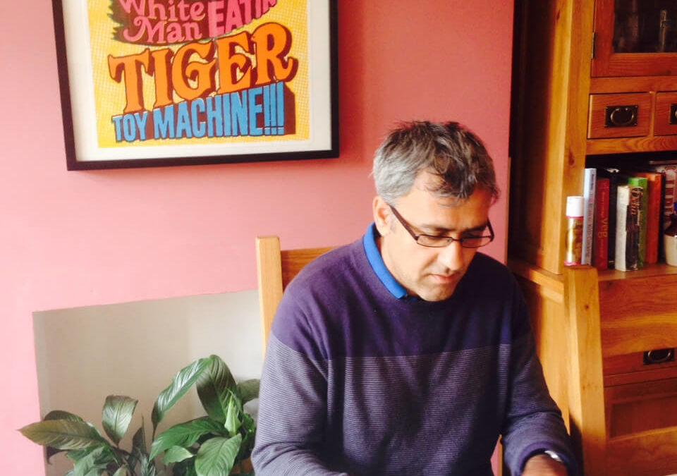 The Writing Desk | Daljit Nagra | Poet