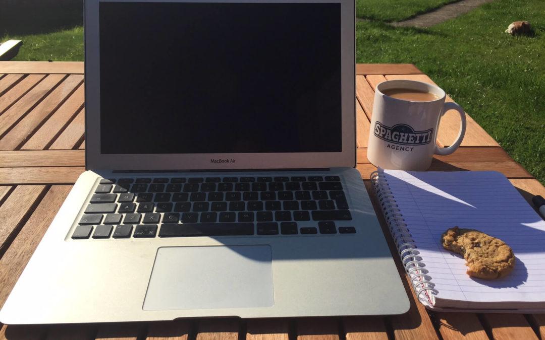 The Writing Desk | Jo Ciriani | Spaghetti Agency