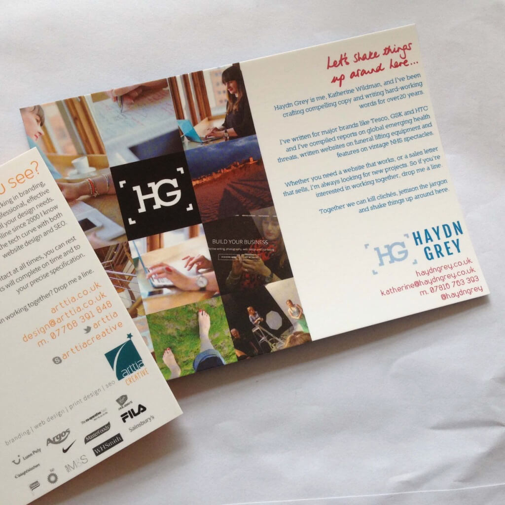 Promotional materials developed by Arttia Creative and Haydn Grey