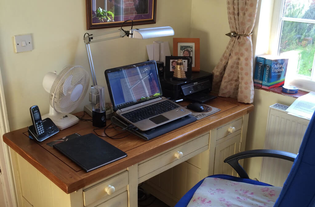 The Writing Desk | Nigel Woollsey | Cardinal Copywriting