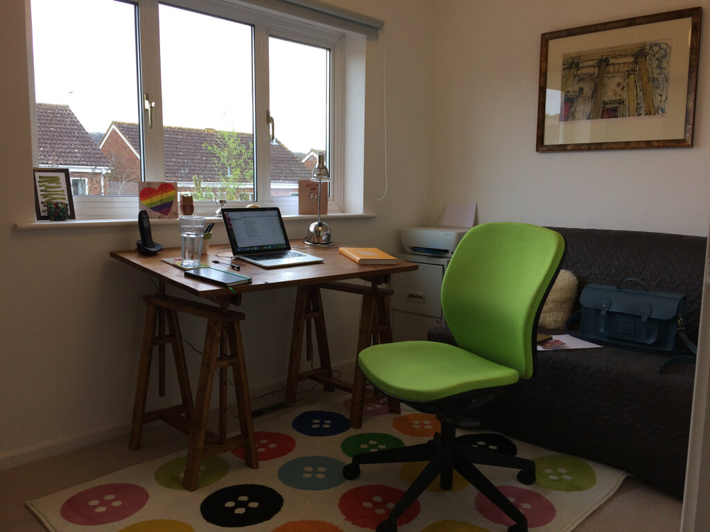 The writing desk of Catherine Every