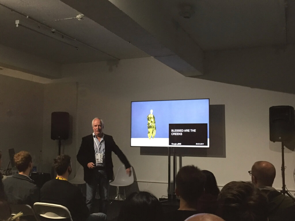 Google's Patrick Collister at D&AD Festival 2017