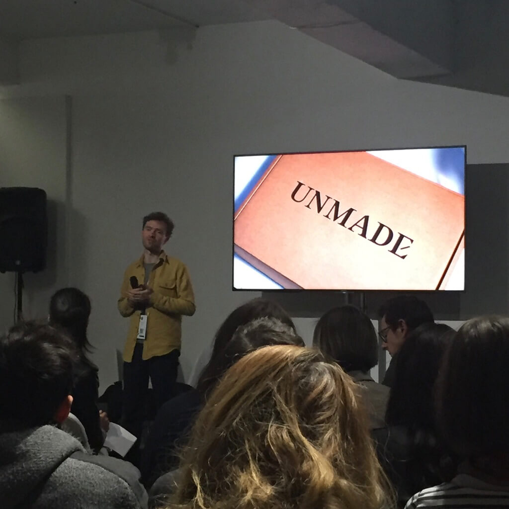 Hal Watts from Unmade at D&AD 2017