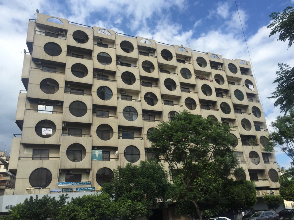 Drek Issac's image of the Makateb Building, Tripoli, Lebanon