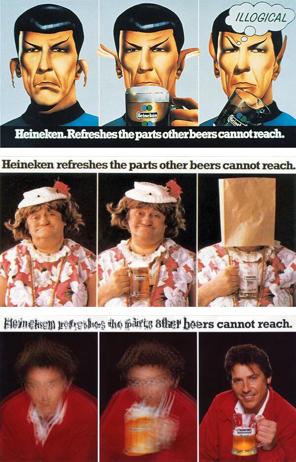 Jonathan Wilcox favourite advert - Heineken