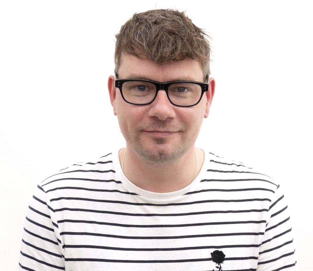Mark Dawson headshot