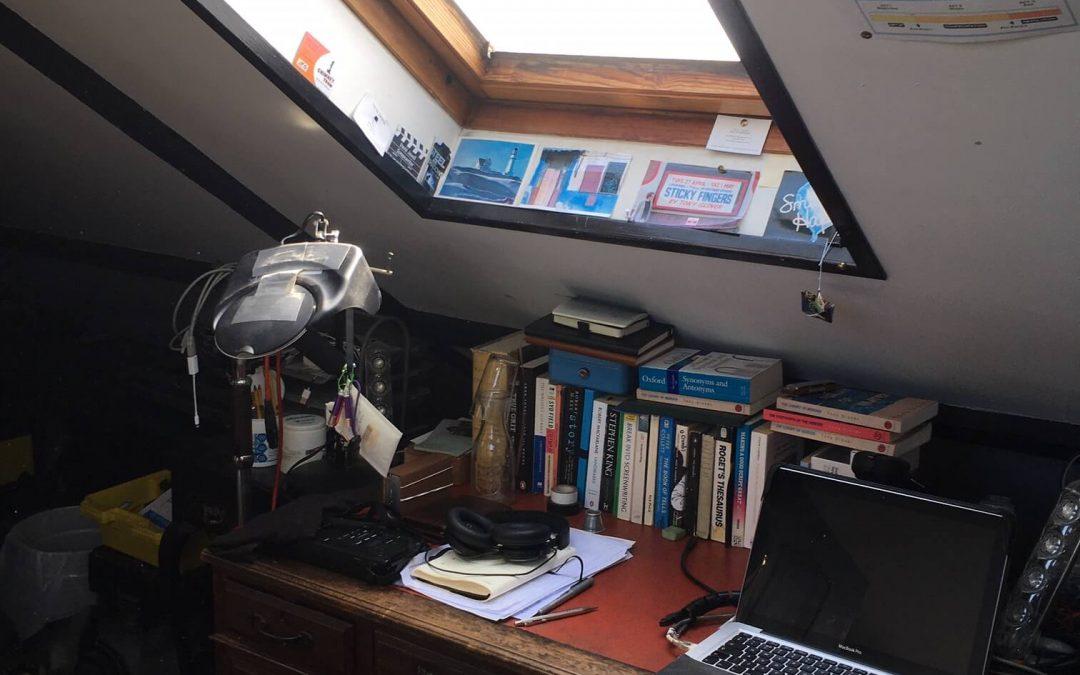 THE WRITING DESK | TONY GLOVER | AUTHOR