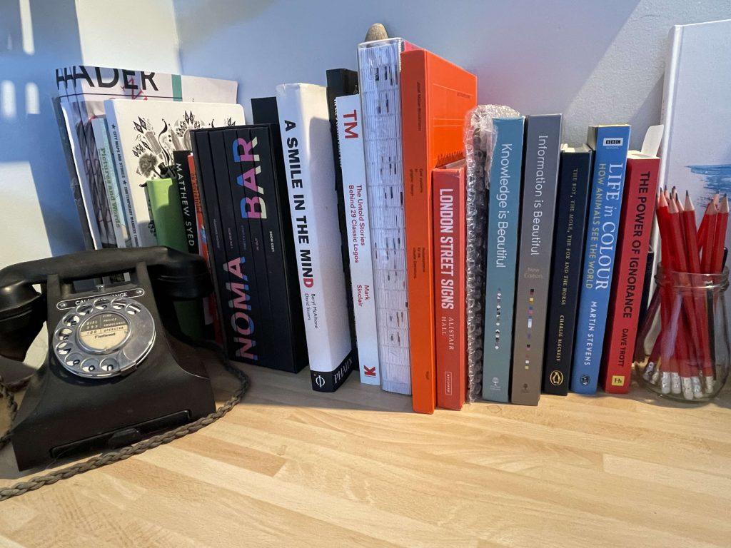 Keith Noble's Bookshelf